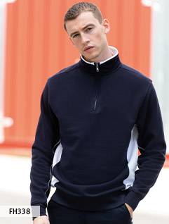Half Zip Sweat Shirts